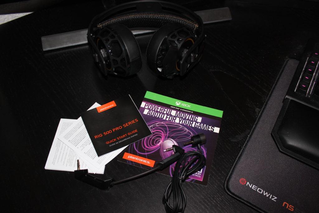 Plantronics - Rig 500 Pro HC -Inhalt - xboxdev.com
