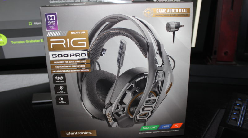 Plantronics - Rig 500 Pro HC -Verpackung - xboxdev.com