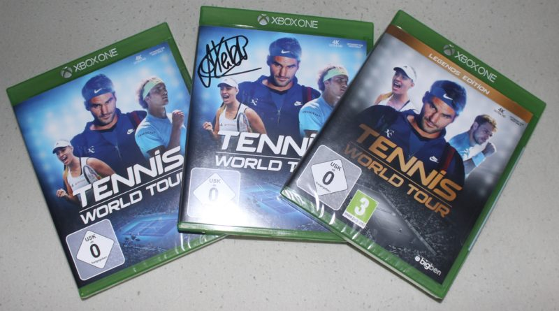 Tennis World Tour - Giveaway - Signiert - XBoxDev.com