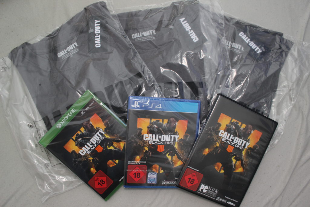 Call of Duty Paket Adventsgewinnspiel